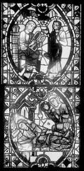 Cathédrale Saint-Jean - Vitrail : Vie de saint Jean-Baptiste