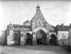 Ancienne abbaye ou prieuré Saint-Ayoul - ensemble ouest
