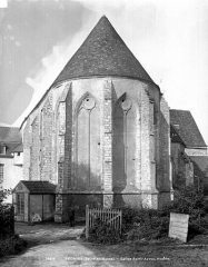 Ancienne abbaye ou prieuré Saint-Ayoul - abside, côté est