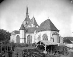 Eglise Sainte-Croix - Ensemble sud-est