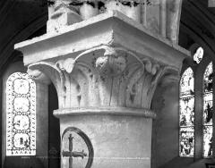 Eglise Sainte-Croix - Chapiteau du bas-côté nord