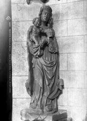 Eglise Sainte-Croix - Vierge et l'Enfant