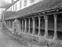 Ancien couvent des Cordelières - Cloître : galerie