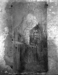 Eglise Saint-Loup - Dalle funéraire