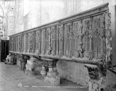 Eglise Saint-Loup - Boiseries