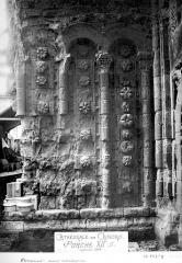 Cathédrale Saint-Etienne - Portail de la façade nord : ébrasement gauche
