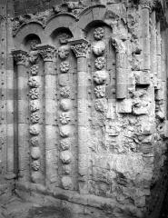 Cathédrale Saint-Etienne - Portail de la façade nord : ébrasement droit