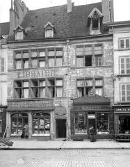 Hôtel Meursault ou hôtel de la Rochepot - Façade sur rue