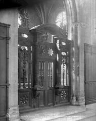Palais de Justice - Clôture de la chapelle du Saint-Esprit