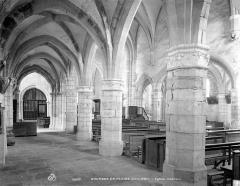 Eglise - Vue intérieure du bas-côté nord, vers le sud-est