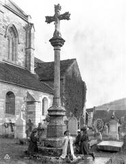 Croix en pierre - Vue d'ensemble