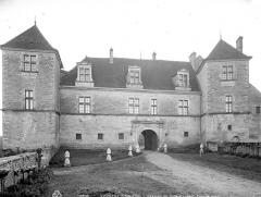 Château de Clos-Vougeot - Façade nord