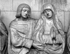 Eglise Saint-Jean - Saint-Sépulcre, la Vierge et saint-Jean