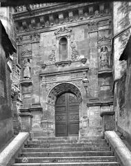 Eglise Saint-Florentin - Portail de la façade nord