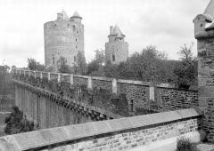 Château - Vue prise de la Tour Surienne, sur la poterne
