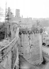 Château - Tour Raoul, vue prise de la plate forme de la Tour Surienne