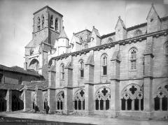 Ancienne abbaye de la Chaise-Dieu - Façade sud et cloître