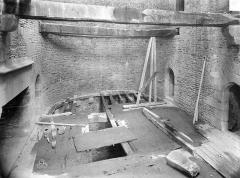 Château - Tour Raoul : Vue intérieure au rez-de-chaussée
