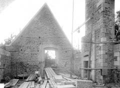 Château - Tour Raoul : pignon du dernier étage