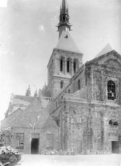 Abbaye et dépendances - Angle nord-ouest