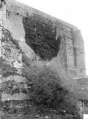 Abbaye et dépendances - Mur de soutènement, côté nord-ouest