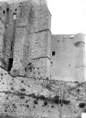 Abbaye et dépendances - Plateforme de l'Ouest, côté nord
