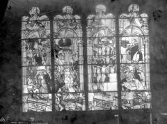 Cathédrale Notre-Dame - Vitrail, scènes de martyrs