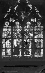Cathédrale Saint-Etienne - Vitrail : Baie Jacques Coeur