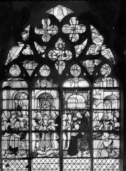 Eglise Saint-Bonnet - Vitrail : Vie de saint Claude