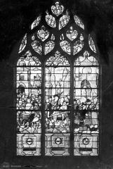 Eglise Saint-Bonnet - Vitrail : saint Jean-Baptiste