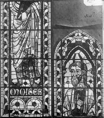 Cathédrale Saint-Etienne - Vitrail : Moïse