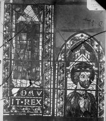 Cathédrale Saint-Etienne - Vitrail : David