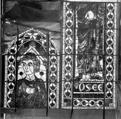 Cathédrale Saint-Etienne - Vitrail : Osée