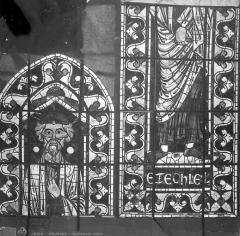 Cathédrale Saint-Etienne - Vitrail : Ezéchiel