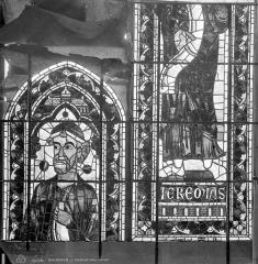 Cathédrale Saint-Etienne - Vitrail : Jérémie