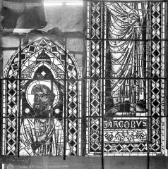 Cathédrale Saint-Etienne - Vitrail : saint Jacques