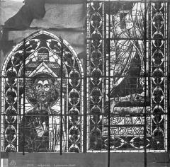 Cathédrale Saint-Etienne - Vitrail : saint Mathieu