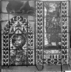 Cathédrale Saint-Etienne - Vitrail : saint Simon