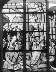 Eglise Sainte-Foy - Vitrail : Fenêtre A