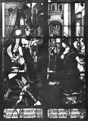 Eglise Sainte-Foy - Vitrail : Fenêtre B