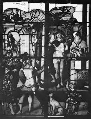 Eglise Sainte-Foy - Vitrail : Fenêtre C
