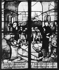 Eglise Sainte-Foy - Vitrail : baie F