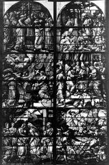 Eglise Saint-Gervais-Saint-Protais - Vitrail, fenêtre ensemble