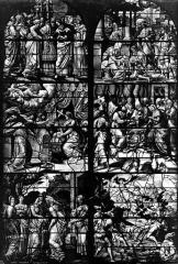 Eglise Saint-Gervais-Saint-Protais - Vitrail, fragments