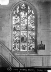 Eglise Saint-Nicolas - Vitrail : Arbre de Jessé