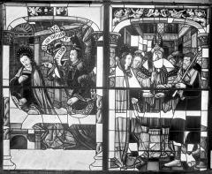 Cathédrale Saint-Etienne - Vitrail, baie 6 : Vie de la Vierge