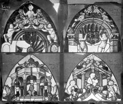 Cathédrale Saint-Etienne - Vitrail, baie 7 : Vie de la Vierge