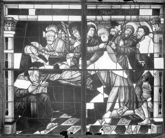 Cathédrale Saint-Etienne - Vitrail, baie 8 : Vie de la Vierge