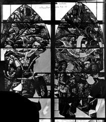 Cathédrale Saint-Etienne - Vitrail, troisième fenêtre sud, La Passion
