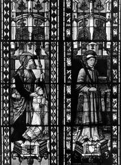 Cathédrale Saint-Etienne - Vitrail, sixième fenêtre, sain Diacre